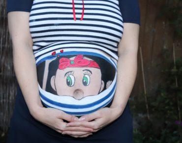 Babybauchbemalung (Bellypainting)